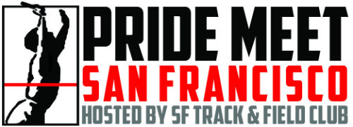 Pride track and field meet logo